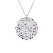 3485_salmon_cartoon Necklace