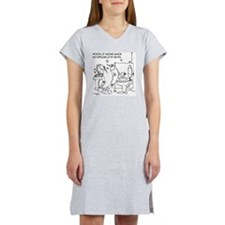 3485_salmon_cartoon Women's Nightshirt