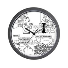 8267_water_cartoon Wall Clock