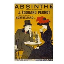 absinthe-pernot Postcards (Package of 8)