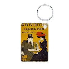 absinthe-pernot Aluminum Photo Keychain