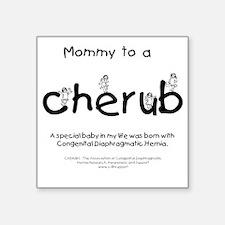 "mommycherub Square Sticker 3"" x 3"""