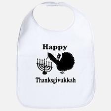 Happy Thanksukkah 3 Bib