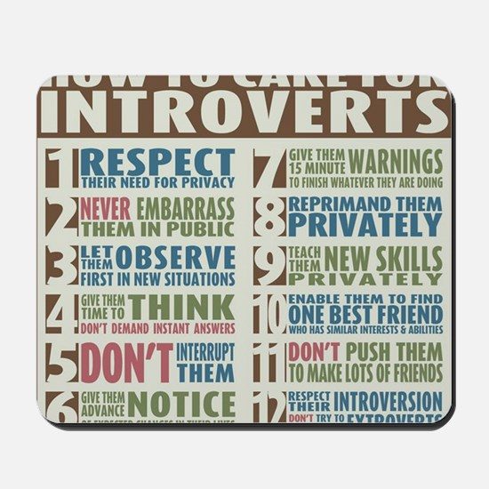 Introvert2 Mousepad