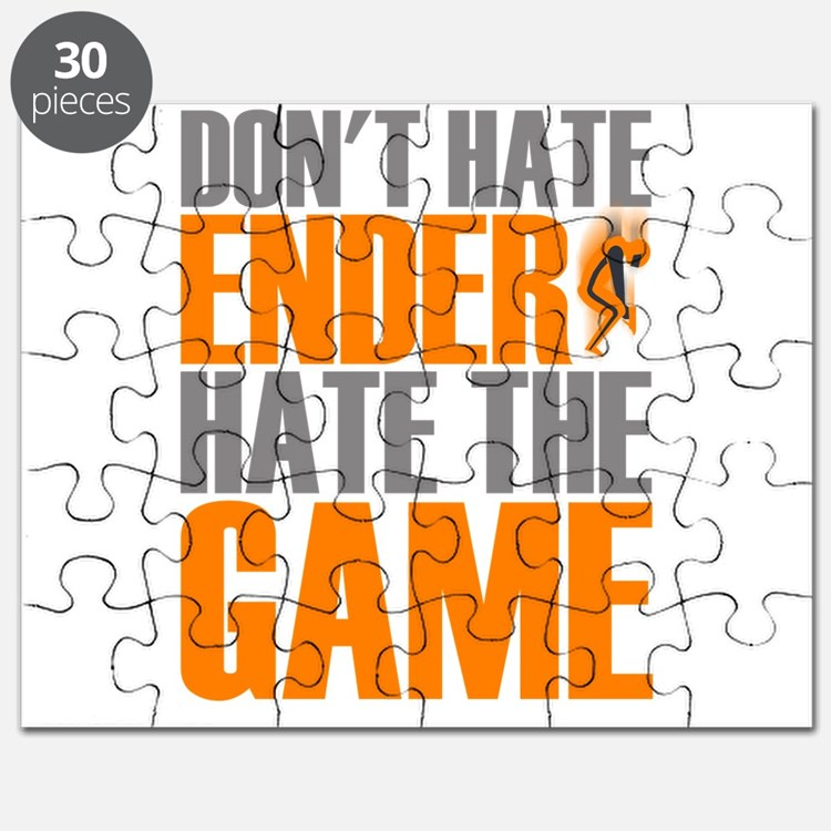 Don't Hate Ender, Hate the Game Puzzle