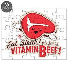 Vitamin Beef Steak Puzzle