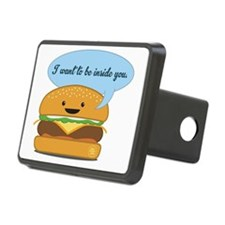 Inside You Burger Hitch Cover