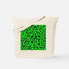 showercurtaingrnleopardpng Tote Bag