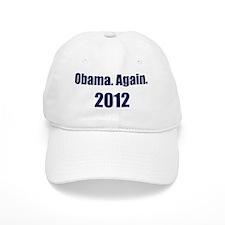 Obama_again_2012_10x10 Baseball Cap