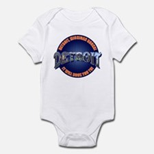 Detroit Michigan Rocks! Infant Bodysuit