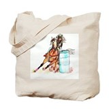 Barrel racing Canvas Bags