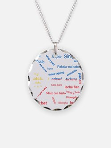 favorite words Necklace