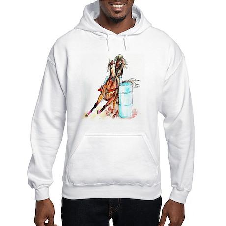 16x20_barrelracer Hooded Sweatshirt