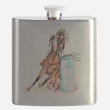 16x20_barrelracer Flask