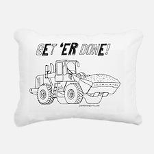 Truck-get-er-done Rectangular Canvas Pillow