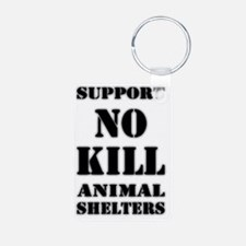 LR SUPPORT NO-KILL ANIMAL  Keychains