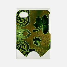 IRISH--SHAMROCK-SLIDER Rectangle Magnet