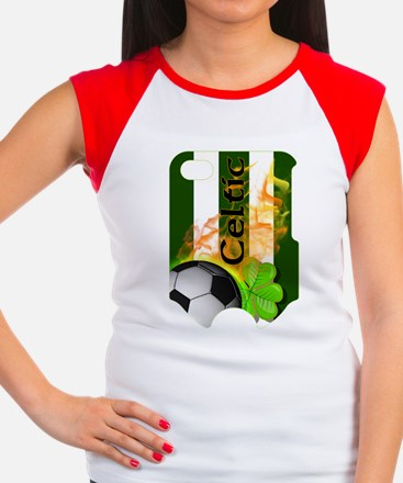 CELTIC-FB-SLIDER Women's Cap Sleeve T-Shirt