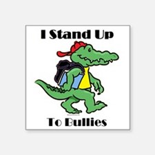 "aligator STAND4 Square Sticker 3"" x 3"""