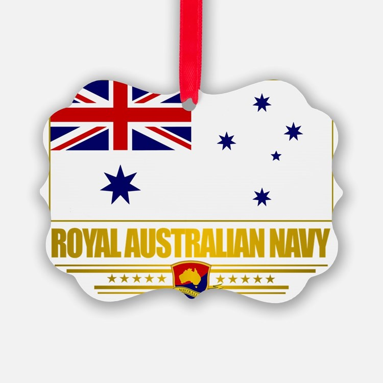 RAN Ensign (Flag 10)2 Ornament