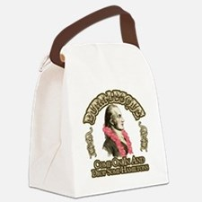 burr-lesque Canvas Lunch Bag