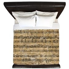 SheetMusic1 King Duvet