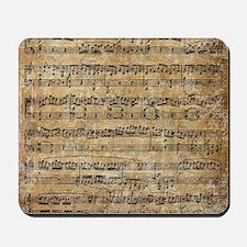 SheetMusic1 Mousepad