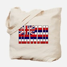 Hawaii Flag Tote Bag