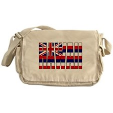 Hawaii Flag Messenger Bag