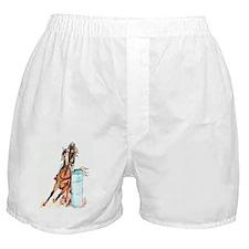 12x18_barrelracer Boxer Shorts