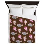 Queen Of The Jungle And Friends Queen Duvet