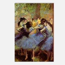 degas-blue-dancers Postcards (Package of 8)