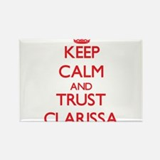 Keep Calm and TRUST Clarissa Magnets
