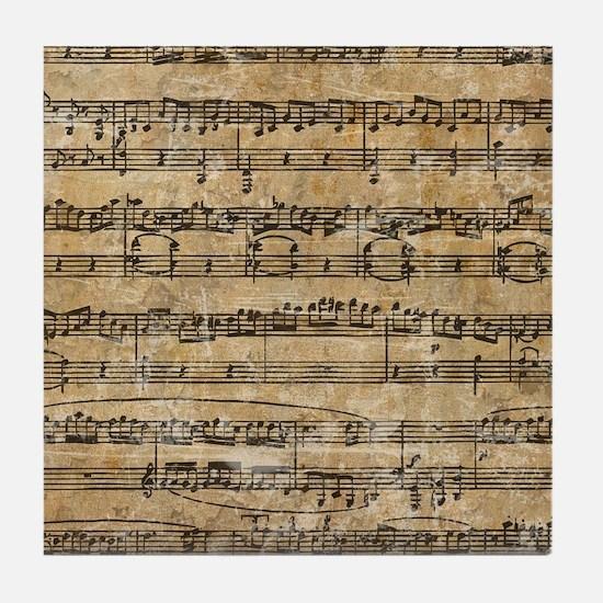 SheetMusic1FF Tile Coaster