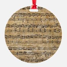 SheetMusic1FF Ornament