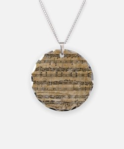 SheetMusic1FF Necklace
