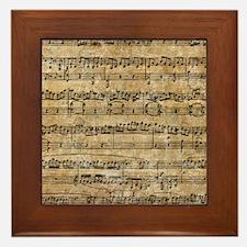 SheetMusic1FF Framed Tile