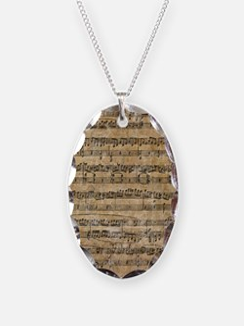 SheetMusic1FF Necklace
