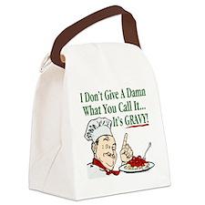 ItsGravy-Dammit Canvas Lunch Bag