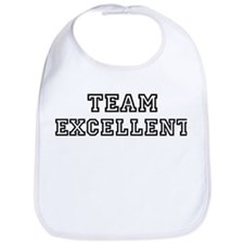 EXCELLENT is my lucky charm Bib