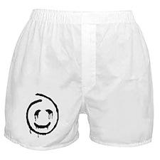 polls_Red_John_Smiley_Face-big Boxer Shorts