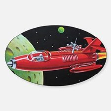 SPACE ROCKET Decal