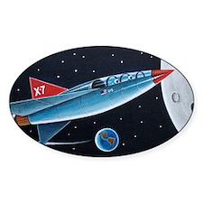 X-7 MOON ROCKET Decal