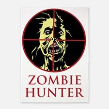 ZombieHunter1.gif 5'x7'Area Rug