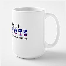 Houston NORML Vote transparent.gif Ceramic Mugs
