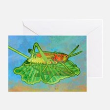 pillowCaseGrasshopper Greeting Card