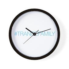 TranceFamily Wall Clock