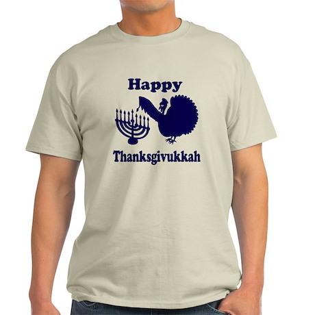 Happy Thanksukkah 3 navy T-Shirt