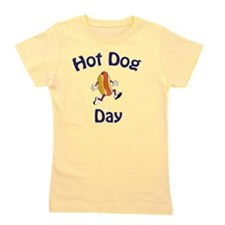 hot dog day new2 Girl's Tee