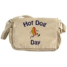 hot dog day new2 Messenger Bag